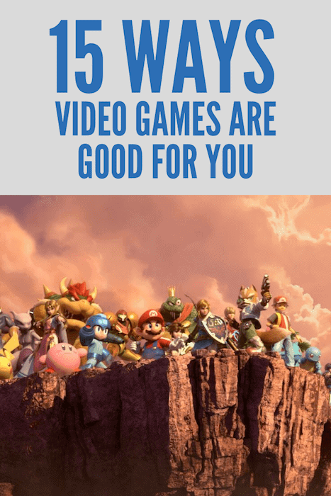 Ways Video Games Are Good For You
