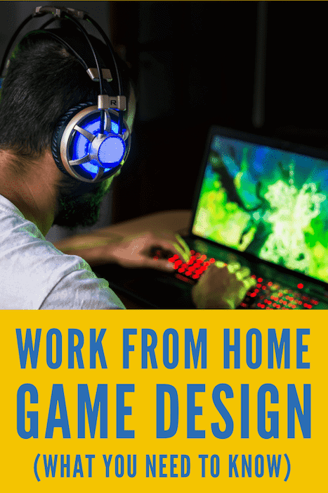 Game Design when working at home